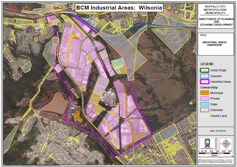 Wilsonia Land Ownership Full Size